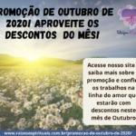 Promoção de Outubro de 2020 – aproveite os descontos do mês!