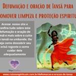 Defumação e oração de Iansã para promover limpeza e proteção espiritual