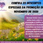Confira os descontos especiais da Promoção de Novembro de 2020