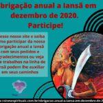 Obrigação anual a Iansã em dezembro de 2020. Participe!
