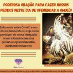 Poderosa oração para fazer nossos pedidos neste dia de oferendas a Omulú!!!