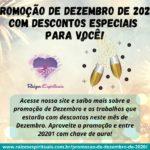 Promoção de dezembro de 2020 com descontos especiais para você!