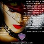 Ela é feiticeira, ela é poderosa, ela tem axé… Laroyê, Maria Padilha!