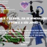 Hoje é 23 abril, dia de homenagens a Ogum e a São Jorge! Ogunhê!