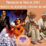 Oferenda Anual às Entidades Ciganas em Maio de 2021