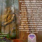 Salve Omulú, Senhor da Terra e de suas riquezas, Senhor da cura. Atotô!