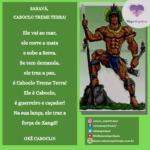 Saravá Caboclo Treme Terra, poderoso e amado Caboclo da umbanda!