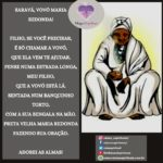 Saravá, Vovó Maria Redonda! Dai-nos sabedoria e proteção!