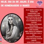 Salve Dona Rosa Caveira, Pombagira de fé, trabalhadora da umbanda!