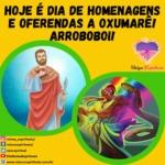 Hoje é dia de homenagens e oferendas a Oxumarê! Arroboboi!