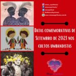 Obrigação anual aos Erês e São Cosme e Damião em Setembro de 2021