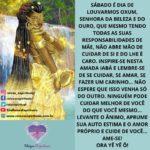 Sábado é dia de Louvar Oxum, a Senhora da beleza e do Ouro!