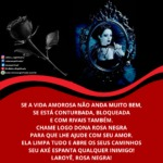 Saravá Dona Rosa Negra, poderosa e amada pombagira da umbanda!