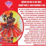 Búzios do dia 13-09-2021: Xangô abre o jogo regendo o dia