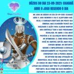Búzios do dia 23-09-2021: Oxaguiã abre o jogo regendo o dia
