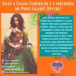 Salve a Cigana Esmeralda e a sabedoria do Povo Cigano! Optcha!