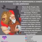 Hoje, 30 de Setembro, é dia de homenagens a Xangô e a São Jerônimo!