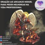 Oração ao Arcanjo Miguel para pedir melhorias na vida profissional