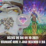 Búzios do dia 09-10-2021: Oxumarê abre o jogo regendo o dia