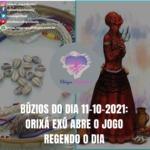Búzios do dia 11-10-2021: Orixá Exú abre o jogo regendo o dia