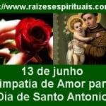 """Simpatia de amor e banho de rosas para """"Dia de Santo Antônio"""""""